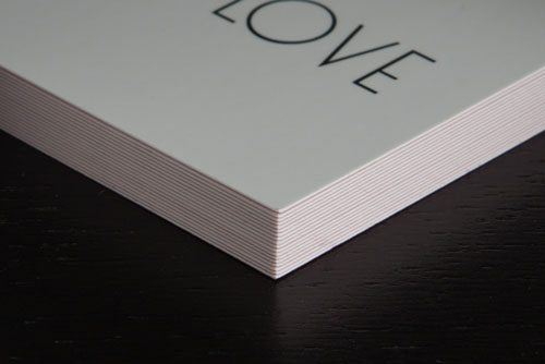 Prints of Love Silk Paper Quality Printing